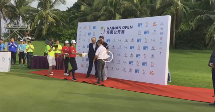 Second place in Hainan Open, China