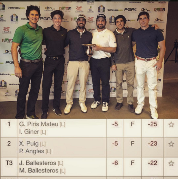PGA's of Europe fourball champs